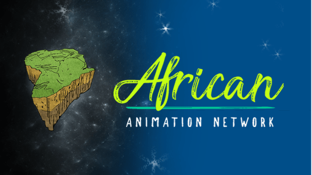 Logo of the African Animation Network