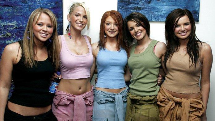 Kimberley Walsh, Sarah Harding, Nicola Roberts, Cheryl Cole and Nadine Coyle