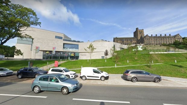 Bangor's Pontio arts centre and university