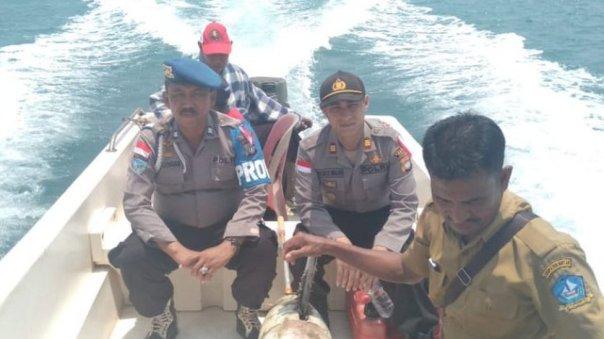 El dron chino que encontraron en Indonesia medía unos dos metros.