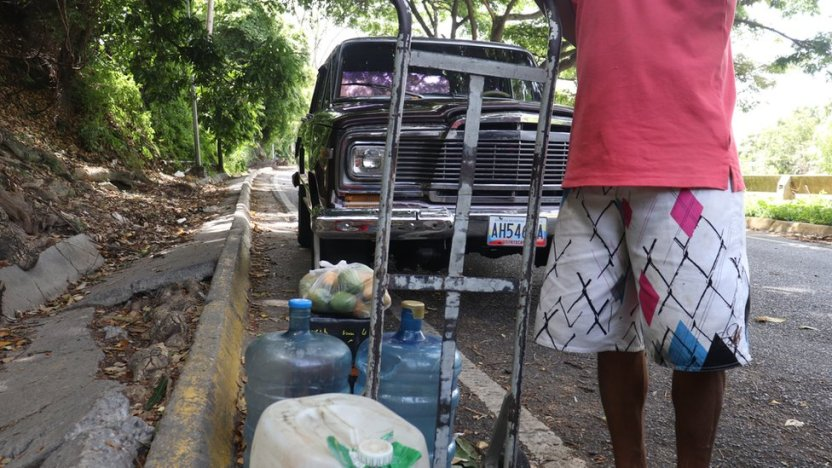 """113359513 img 3858 - Qué hay detrás de la """"fiebre"""" por excavar pozos en los edificios residenciales de Caracas"""