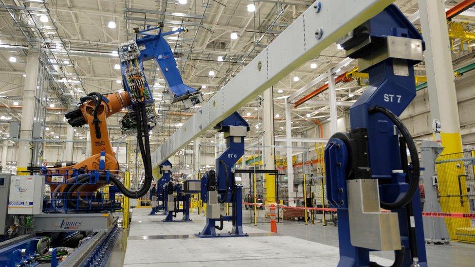 Máquinas en Everett