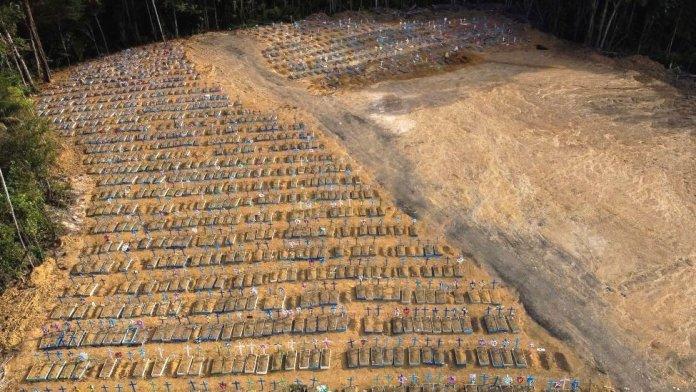 Cemetery in Brazil