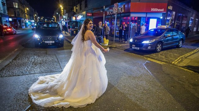 Byres Road bride