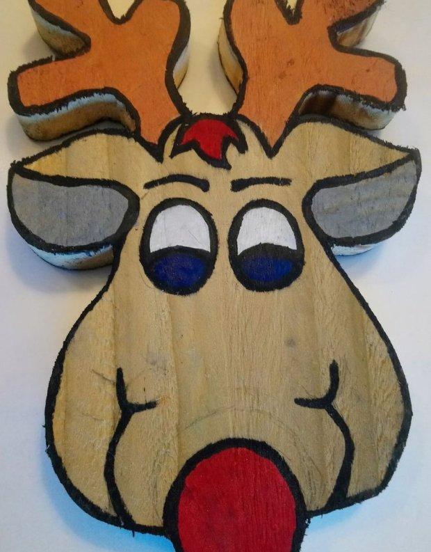 spot the RSPB reindeer