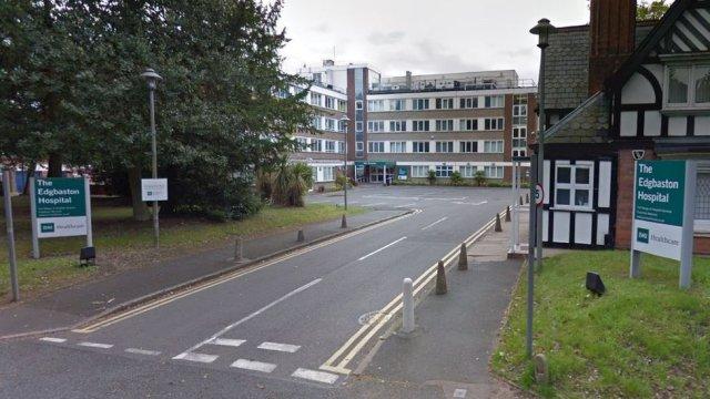 The Edgbaston Hospital signs