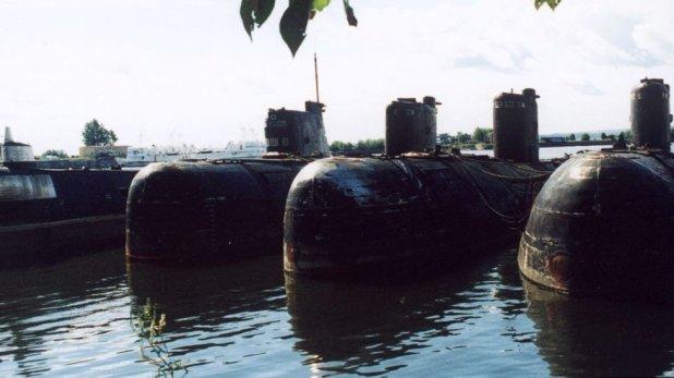 Submarinos soviéticos.