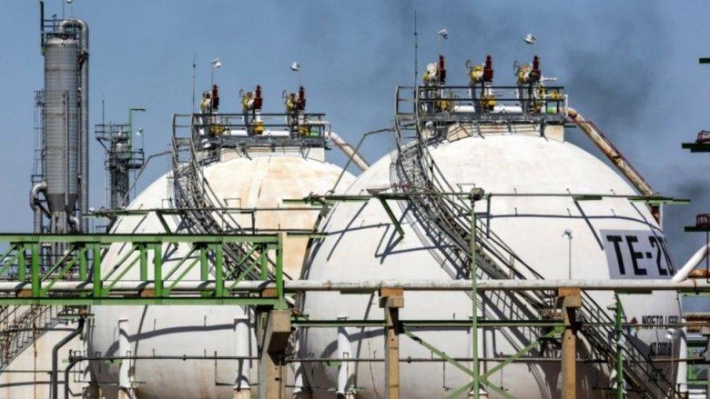 Refineria en Reinosa de Pemex.