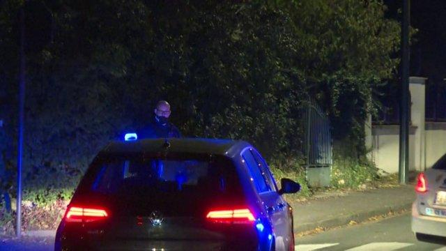 Police sur les lieux Conflans-Sainte-Honorine