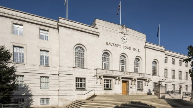 Hackney Town Hall, London