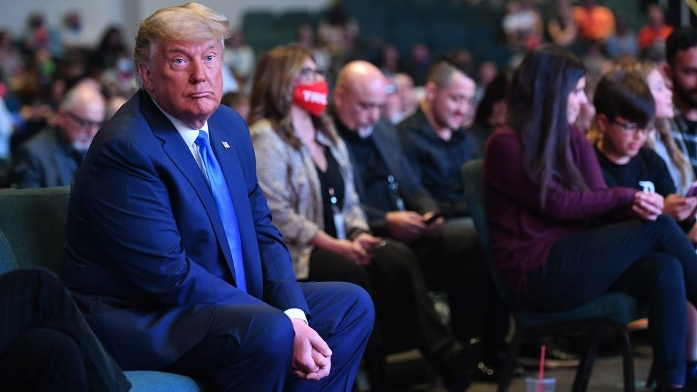Donald Trump in Las Vegas, October 2020
