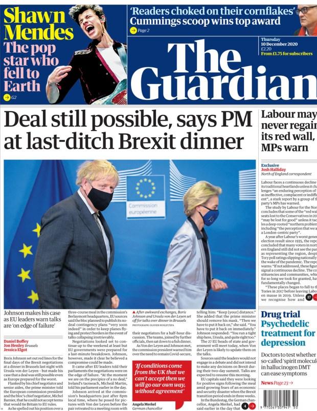 The Guardian Thursday 10 December