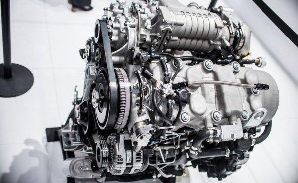 Motor de combustión.