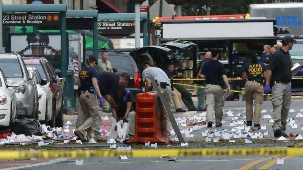 Explosión en Chelsea.