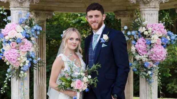 PC Andrew Harper and his wife