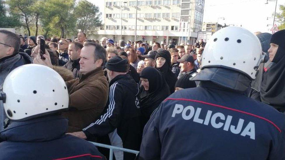 Protest Podgorica