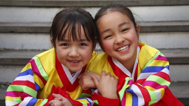 niñas surcoreanas