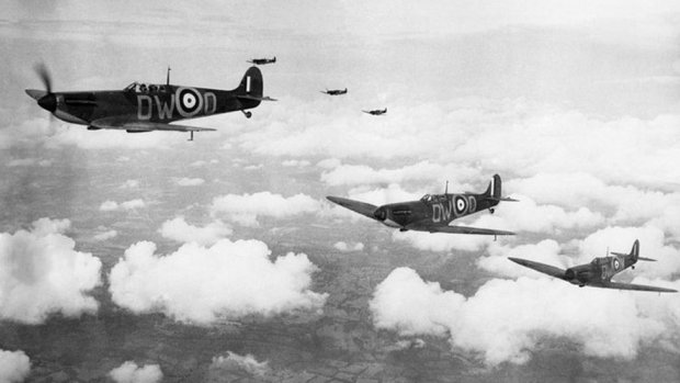 Spitfires in World war Two