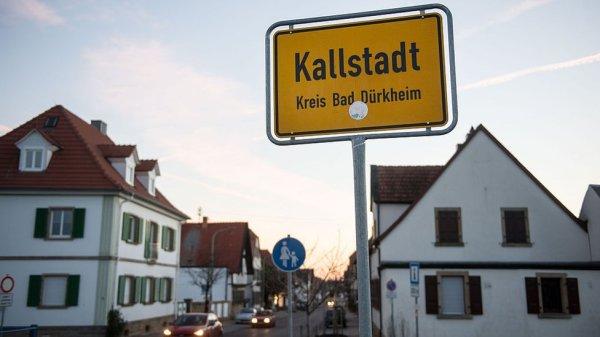 Imagen actual de Kallstadt.