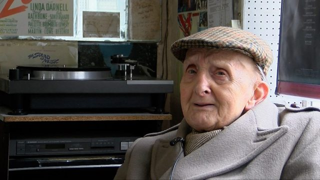 George Ginn has sold records in Brighton for 50 years