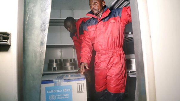 Llega la vacuna experimental a Congo.
