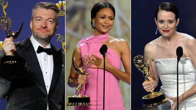 Emmy Awards 2018: Thandie Newton and Claire Foy among British winners