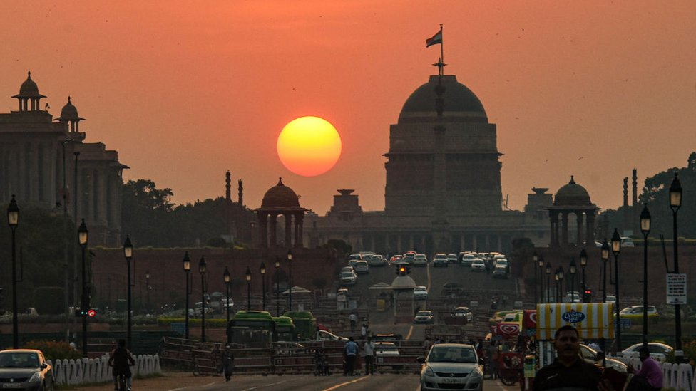 The 3km (1.8 mile)-long Rajpath (King's Avenue) will also be given a facelift