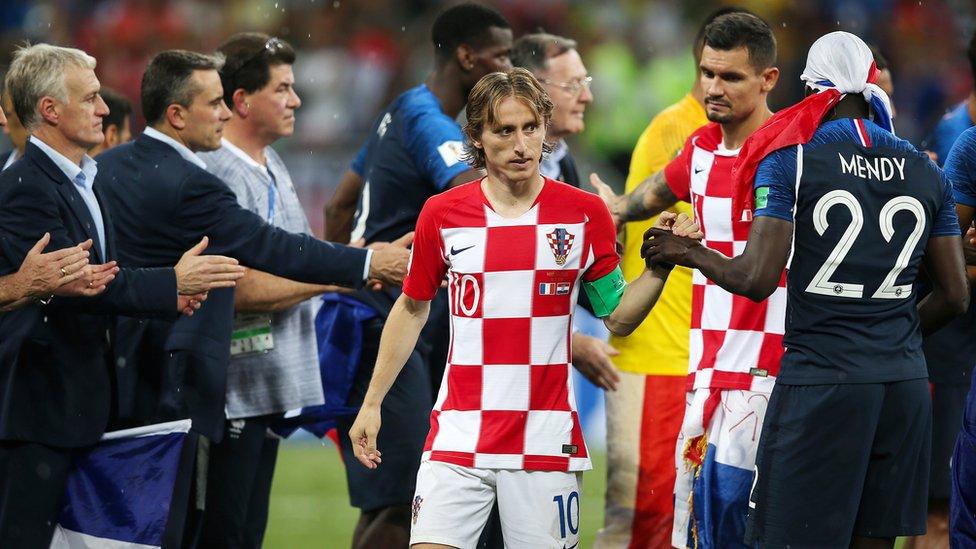 Luka Modric en el Mundial.