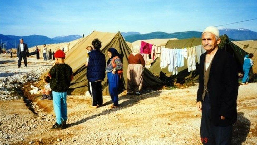 Campo para desplazados