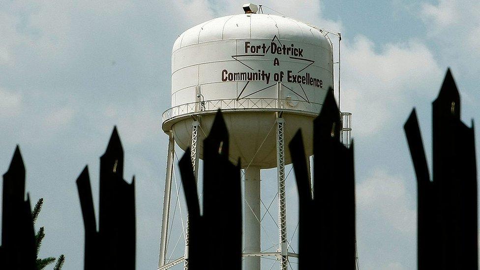 Base de Fort Detrick