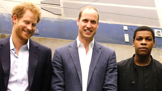 Star Wars: Princes William and Harry are stormtroopers in The Last Jedi
