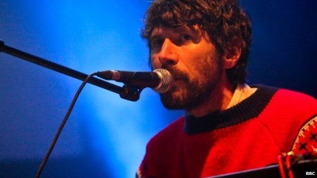 Musician Gruff Rhys