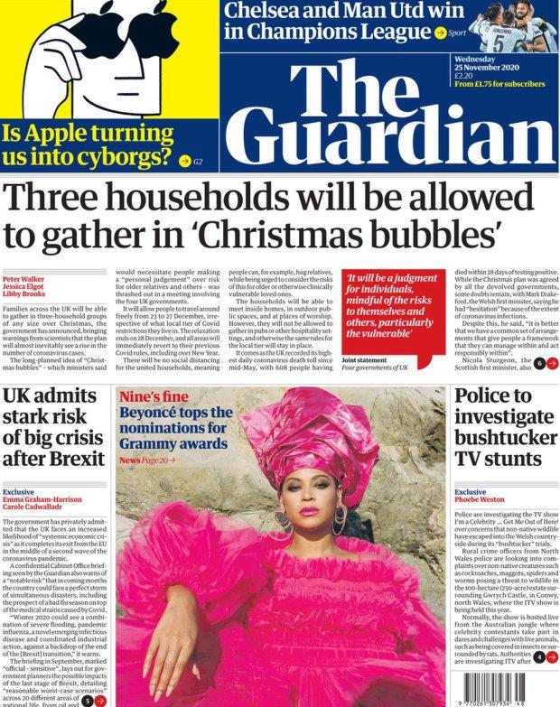 The Guardian 25 November