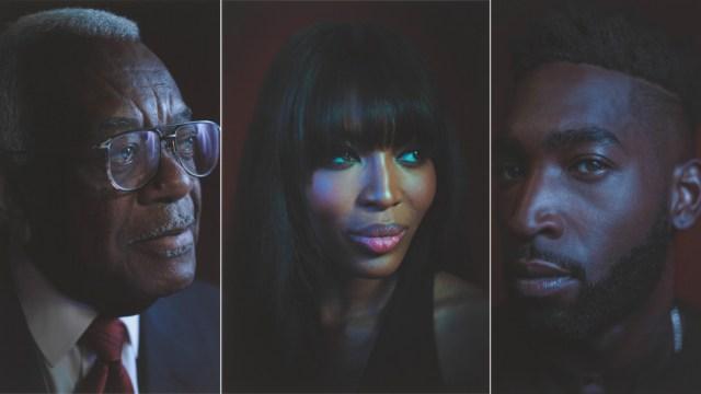 Black British stars celebrated at National Portrait Gallery