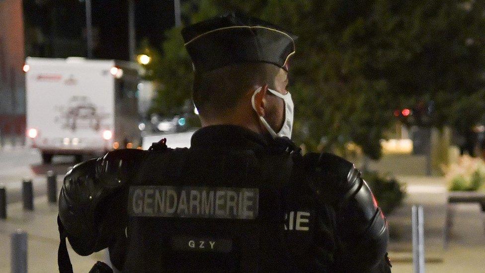 File photo of gendarme