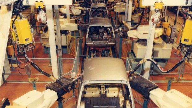 The Metro production line