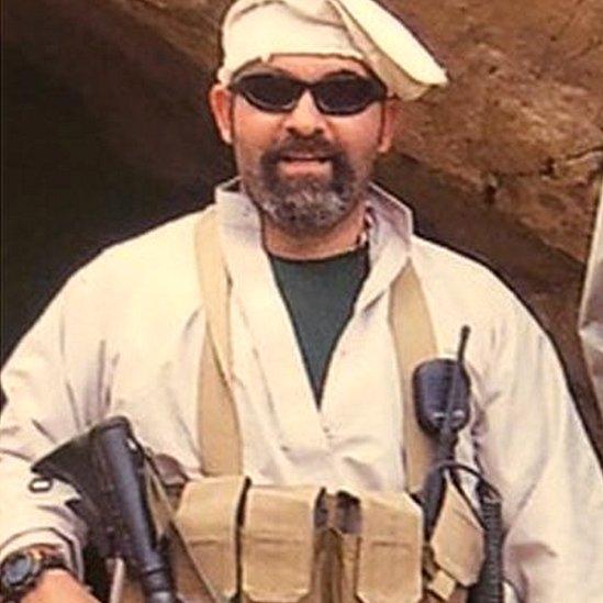 Marc Polymeropoulos en Afganistán