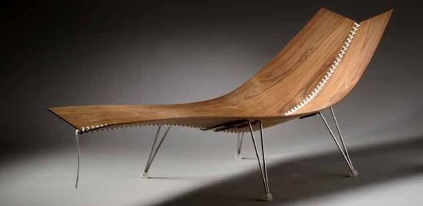Chaise Flugstol desenhada por Erling Christoffersen, exposta na edição 2011 da Design Miami