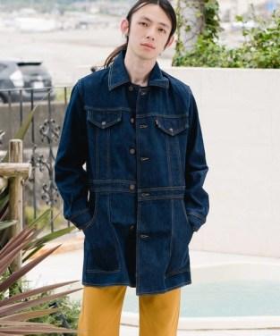 「LEVI'S(R) VINTAGE CLOTHING サファリジャケット/ダークインディゴブルー/THE UPSETTER」の画像検索結果