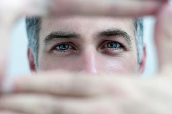 A Man Focusing - Photo courtesy of ©iStockphoto.com/medlar, Image #15766686