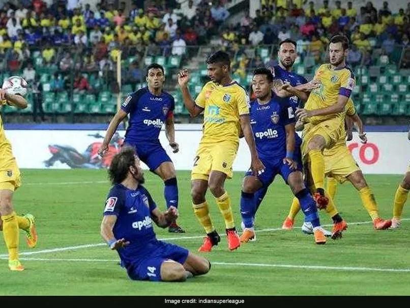 Indian Super League: Chennaiyin FC Play Goalless Draw vs Kerala Blasters