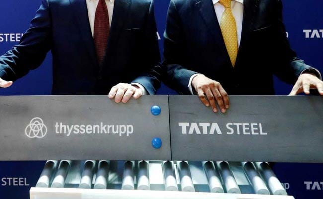 Tata Steel Soars Nearly 4% Post March Quarter Results