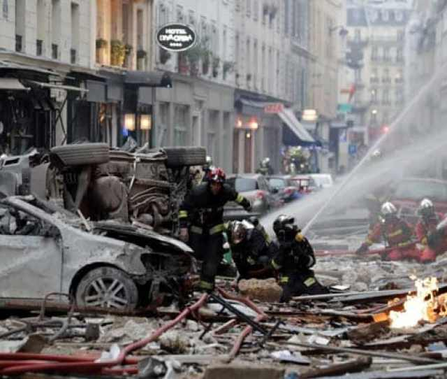 Sounded Like Earthquake 2 Firefighters Tourist Killed In Paris Blast