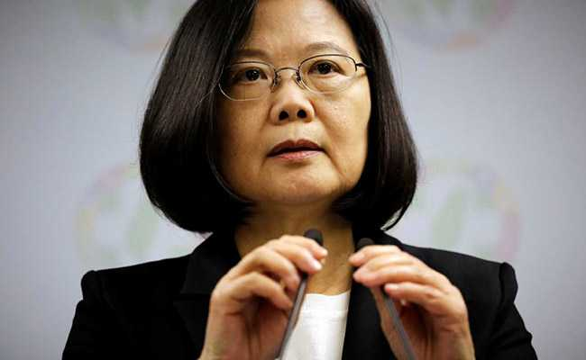 """In New Year's Speech, Taiwan Urges China To Have """"Meaningful"""" Talks"""