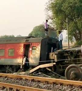 15 Injured As 12 Coaches Of Delhi Bound Poorva Express Train Derail Near Kanpur