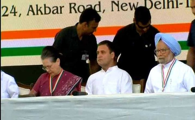 Congress Releases Poll Manifesto For 2019 Elections: Highlights