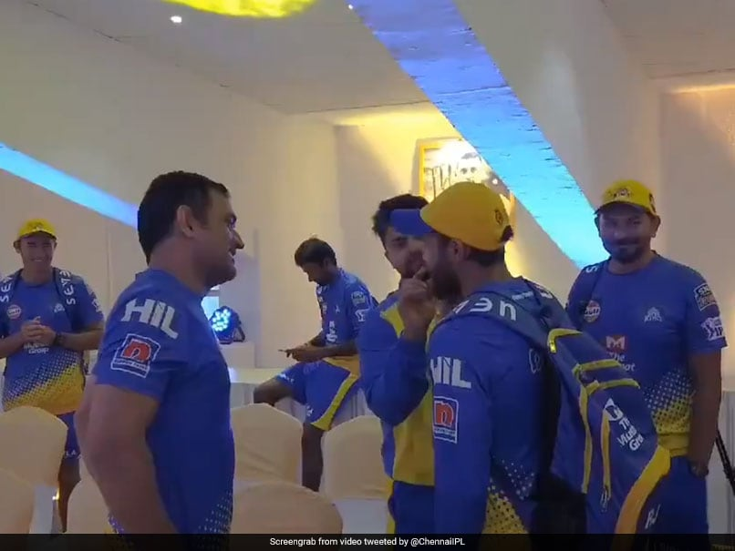 Watch: MS Dhoni, CSK Teammates Tease Ravindra Jadeja For His New Look