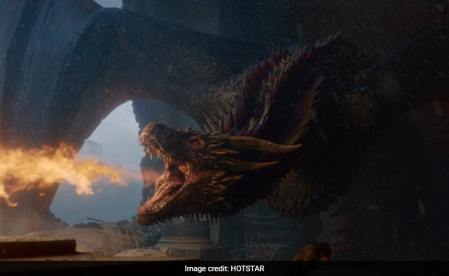 Game Of Thrones Drogon Flew Off And Landed On Twitter