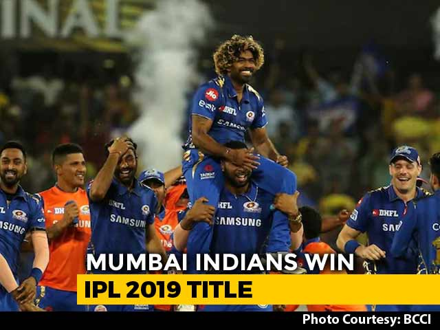 Chennai CSK loses to Mumbai Indians MI in IPL 2019 - By one Run - Mumbai Indians win against chennai super kings in ipl 2019