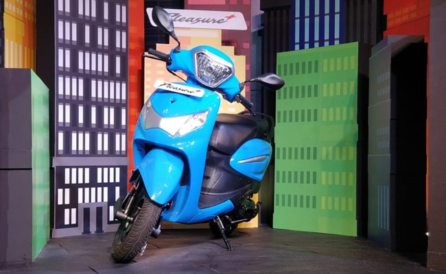 2019 Hero Pleasure Plus comes in two trims priced at Rs. 47,300 and Rs. 49,300